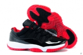Perfect Air Jordan 11 Low US14 US15 US16 Black Red White