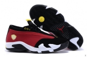 Air Jordan 14 Low AAA Women Red Black White Yellow