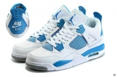 Air Jordan 4 AAA White Blue