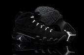 Air Jordan 9 Women AAA Black White