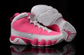 Air Jordan 9 Women AAA Pink White