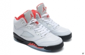 Air Jordan 5 AAA Size US 14 US 15 US16 White Red Black