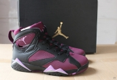 AAA Air Jordan 7 Women Strawberry Purple Black Pink