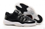 Air Jordan 11 Low Bull Demon King Black White