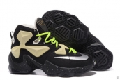 Nike Lebron 13 AAA Glow In Dark Black Fluorescent Green