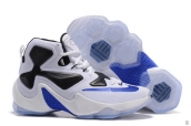Nike Lebron 13 Women 25K White Black Blue