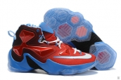 Nike Lebron 13 Women Captain America