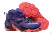 Nike Lebron 13 Women Purple Black Pink