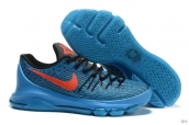 Nike Zoom KD VIII Blue Black Red