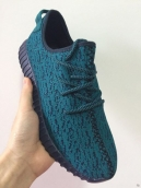 Adidas Yeezy 350 Boost Women Green Black