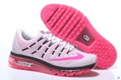 Air Max 2016 Women White Watermelon Red Black