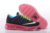 Air Max 2016 Women Black Blue Pink Green White