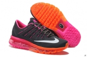Air Max 2016 Women Black Pink Orange White