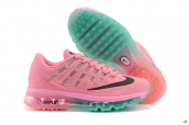 Air Max 2016 Women Light Pink Black Green