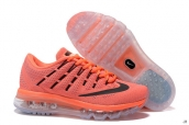 Air Max 2016 Women Orange Black