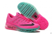 Air Max 2016 Women Pink Black Green