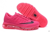 Air Max 2016 Women Rose Red Black
