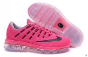 Air Max 2016 Women Rose Red Black White