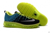 Air Max 2016+ AAA Black Jade Fluorescent Green White