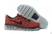 Nike Flyknit Air Max Wine Red Black
