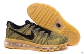 Nike Flyknit Air Max Luxury Gold Color Black
