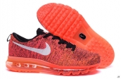 Nike Flyknit Air Max Red Black White