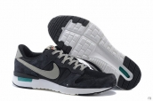 Nike Internationalist Leather Low Black Grey White