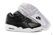 Air Flight 89 Leather Black White