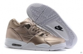 Air Flight 89 Leather Coppery White
