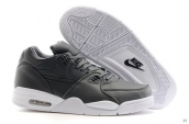 Air Flight 89 Leather Grey White