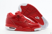 Air Flight 89 Leather Red White