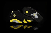 Air Jordan 14 Kids Black Yellow