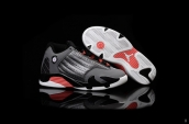 Air Jordan 14 Kids Grey Black Orange White