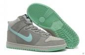 Nike Dunk High Women Grey Mint Green