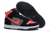 Nike Dunk High Women Valentines Day Black Pink White