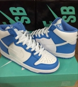 Nike Dunk High North Carolina Blue