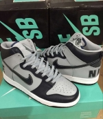 Nike Dunk High George Town Grey Black
