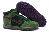Nike Dunk High Cannabis Green Purple