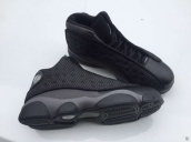 AAA Air Jordan 13 Black Dark Grey