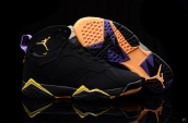 Air Jordan 7 Black Yellow Purple