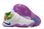 Nike Kyrie 2 White Purple Green Blue