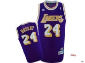 NBA Los Angeles Lakers Jersey Bryant 24 -009