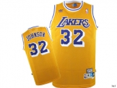 NBA Los Angeles Lakers Jersey Johnson 32 -002
