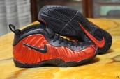 Air Foamposite One Red Black