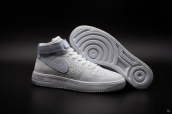 Women Nike Air Force 1 Flyknit High White