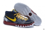 Nike Kyrie 1 Knight Navy Blue Yellow Red
