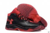 Ua Curry III Black Red