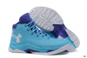 Ua Curry III Blue Purple White