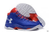 Ua Curry III Blue Red White
