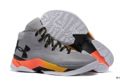 Ua Curry III Grey Black Orange Yellow